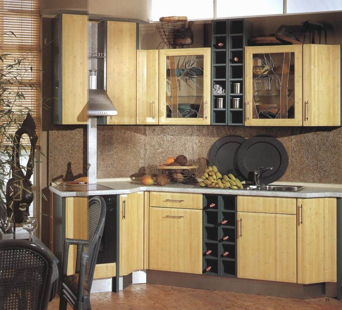 Bamboo Kitchen Bamboo Kitchen Cabinets Building Kitchen Cabinets Cost Of Kitchen Cabinets
