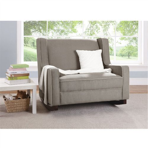 Found It At Joss Main Natalie Double Glider Baby Nursery Furniture Double Rocking Chair Rocker Recliners