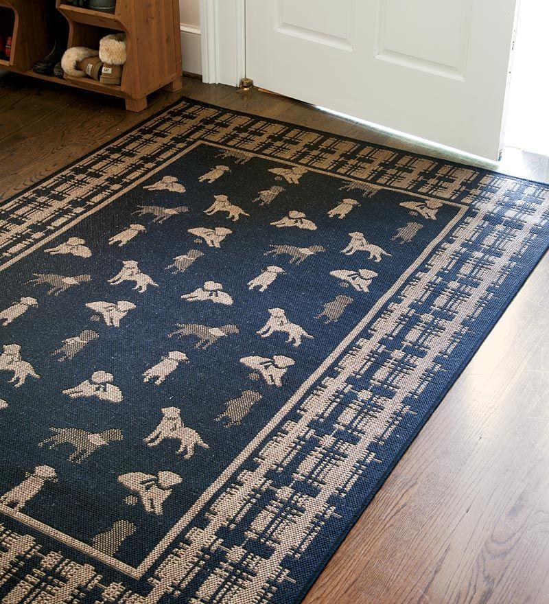 Durable Indoor/Outdoor Polypropylene Dog Rug My Style Pinterest