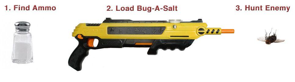 bug a salt the original salt gun the bug a salt original salt