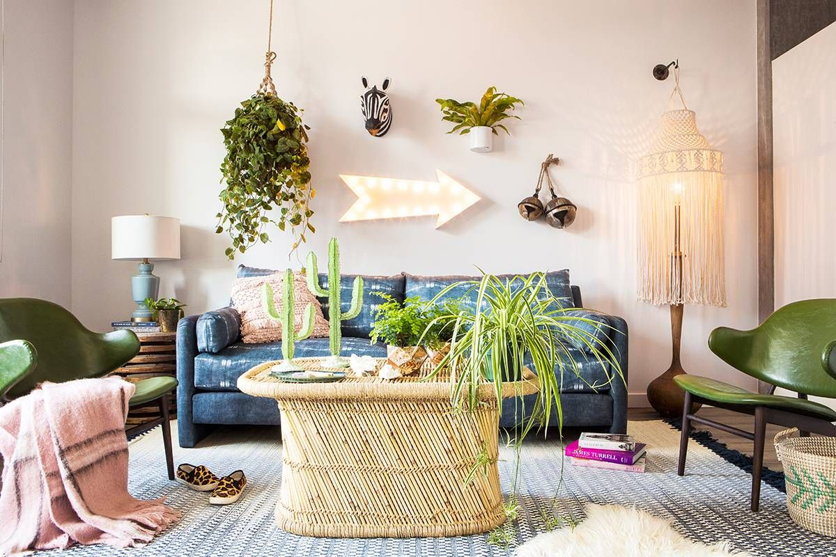 Best Move Over Minimalism—These Bohemian Living Rooms Are 400 x 300