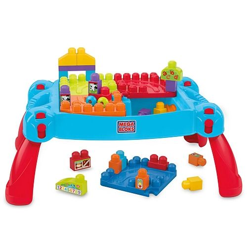 Mega Bloks First Builders Build N Learn Table Toys R Us Canada