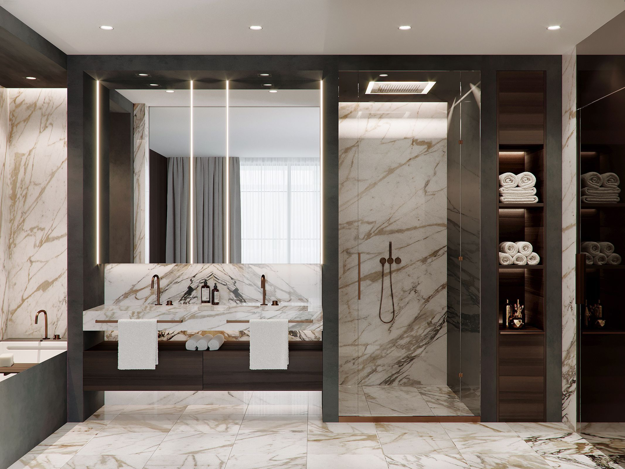 Come To See The Most Luxury Bathroom Inspirations Ever Check More At Maisonvalentina Net Salle De Bain Design Salle De Bain De Luxe Idee Salle De Bain