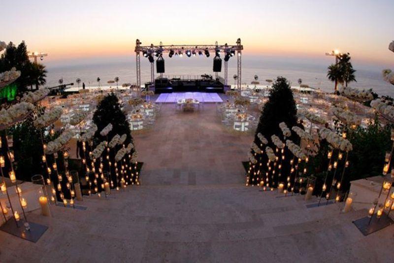 Ociel Venue Private Wedding Venues Beirut Zafaf