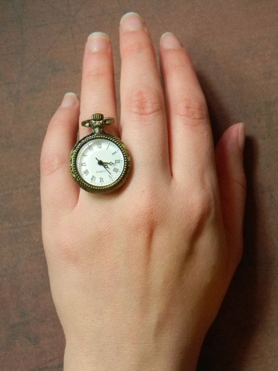 Exclusive Limited Edition Mini Pocketwatch Ring Made By Curiosity