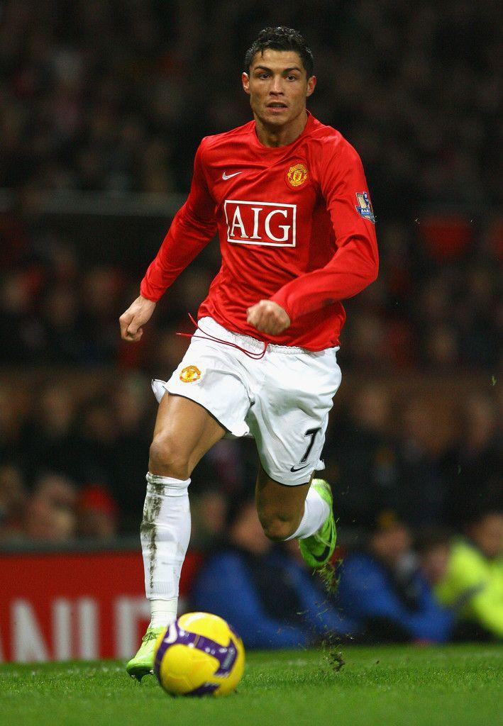 Ronaldo 2008 Manchester United Football Icon Fever Europa League Professional