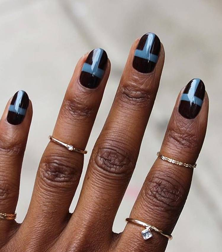 30 Nail Colors That Look Especially Amazing On Dark Skin Tones Colors For Dark Skin Nail Colors Pretty Nail Colors