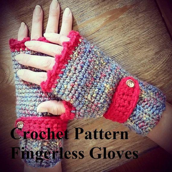 Crochet Pattern Fingerless Gloves Crochet Gloves Pattern | crochet ...