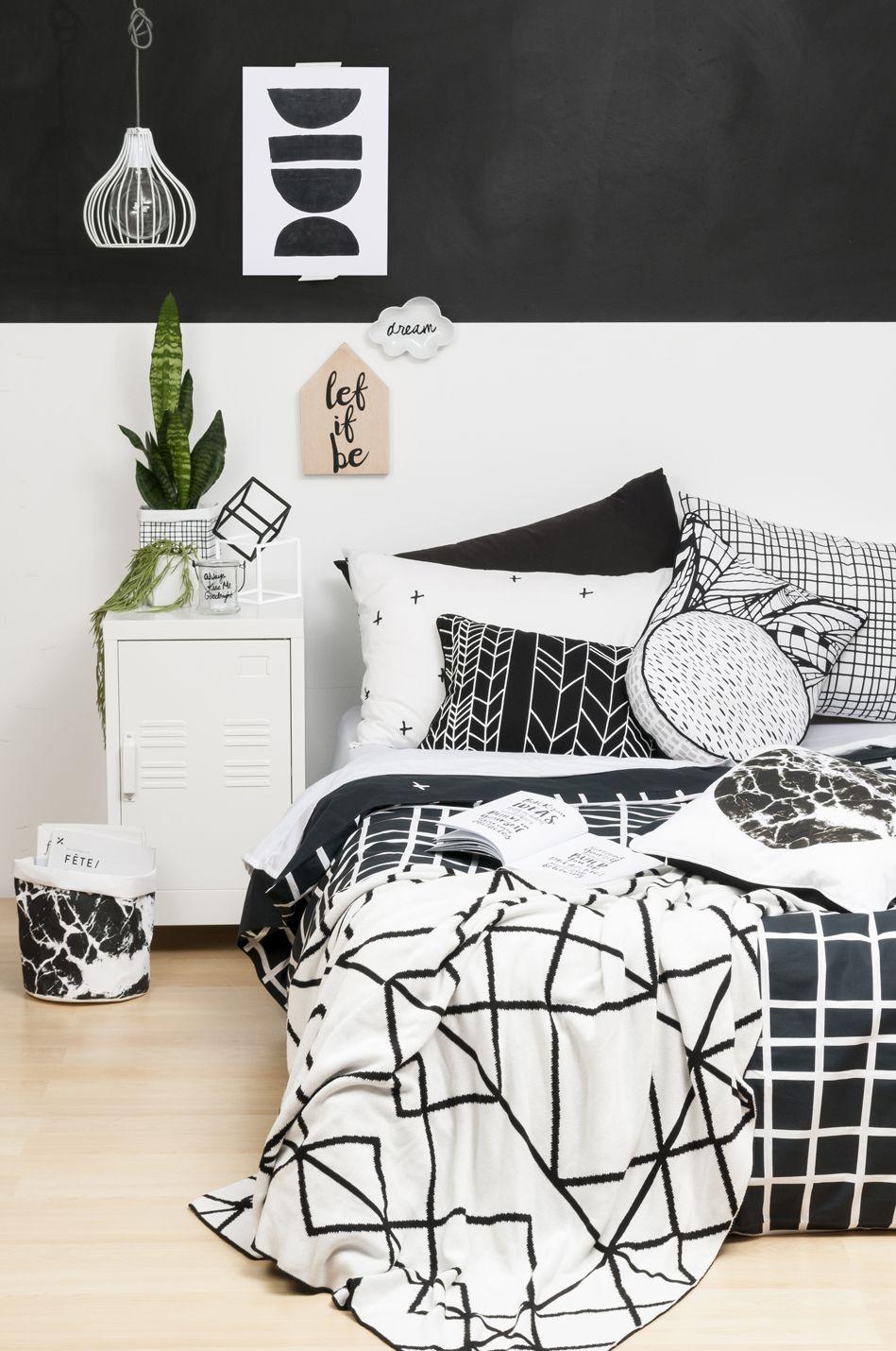 General Eclectic Grid design Bed Linen http://www.shutthefrontdoor.co.