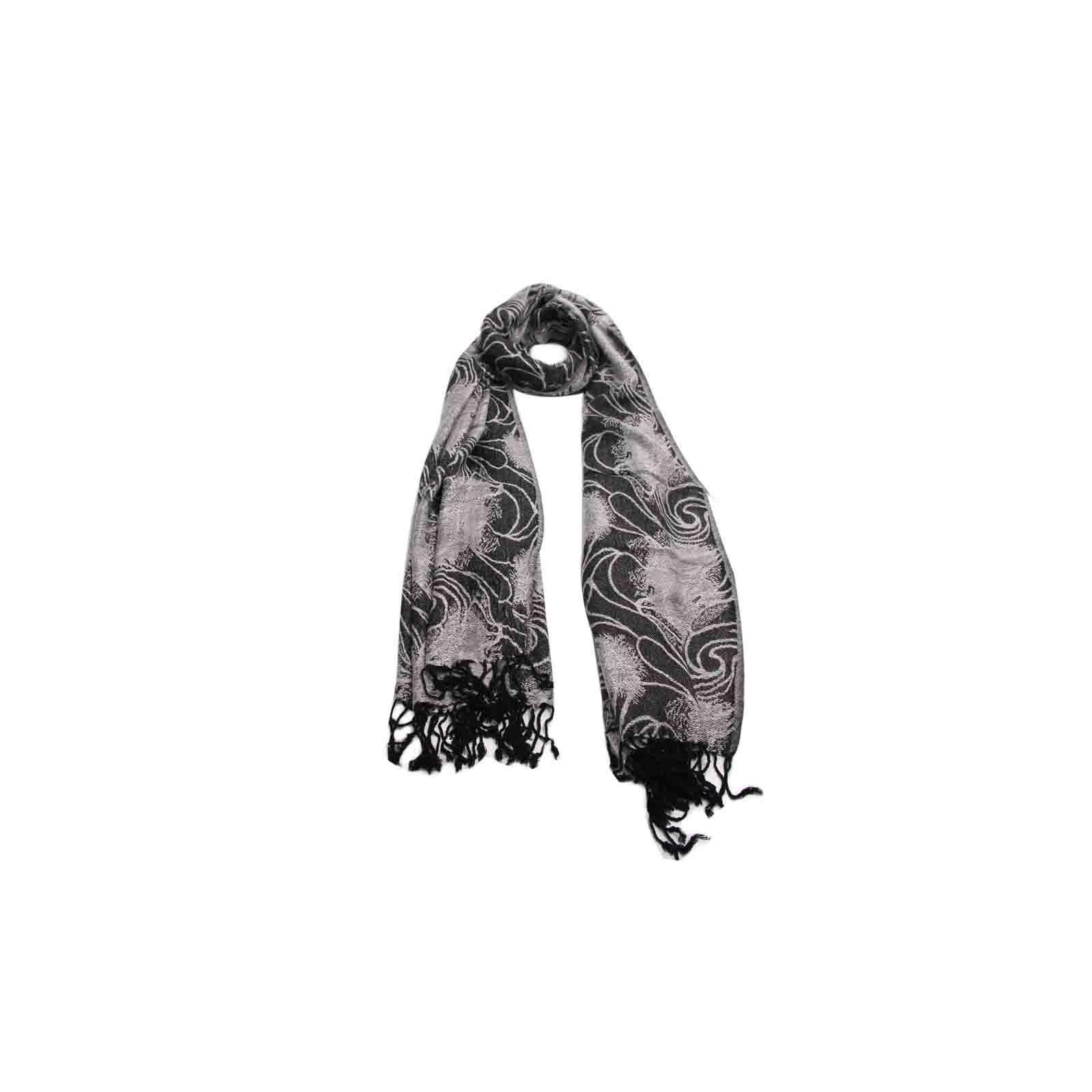 Pashmina Furacão Negro de Viscose #pashmina #pashimina #modafeminina #fashion #scarf #scarfs