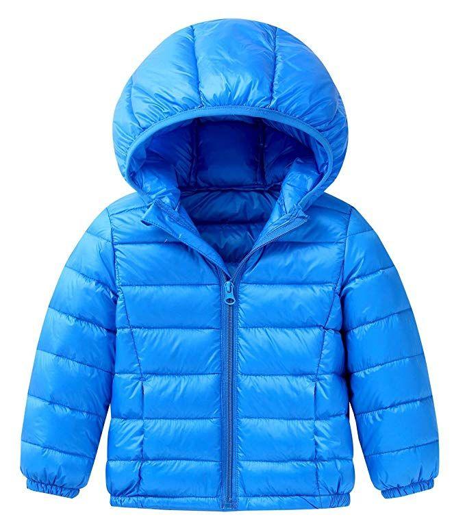 93c57b6220e4 Amazon.com  Happy Cherry Baby Boys Girls Hooded Coat Winter ...