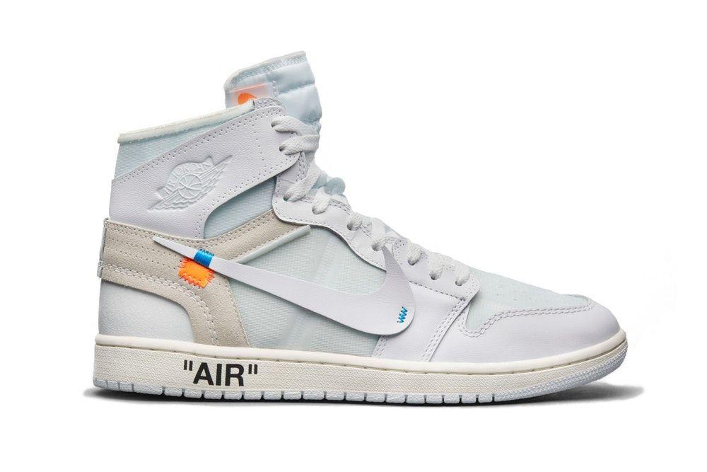 The Virgil Abloh X Air Jordan 1 White Finally Has A Release Date