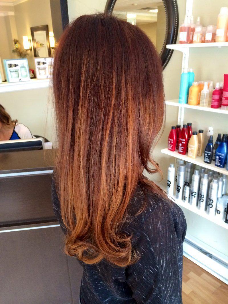 La tendance 2019 est la couleur de cheveux brun cuivré: 36 coiffures - Coupes de cheveux