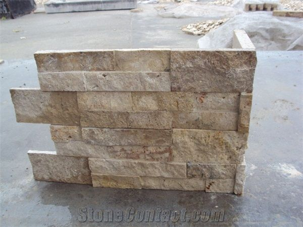 Beige Travertine Split Face Strip Tile from China, the Details Include  Pictures,Sizes,Color,Material and Origin. Price:Tbd/Pieces.