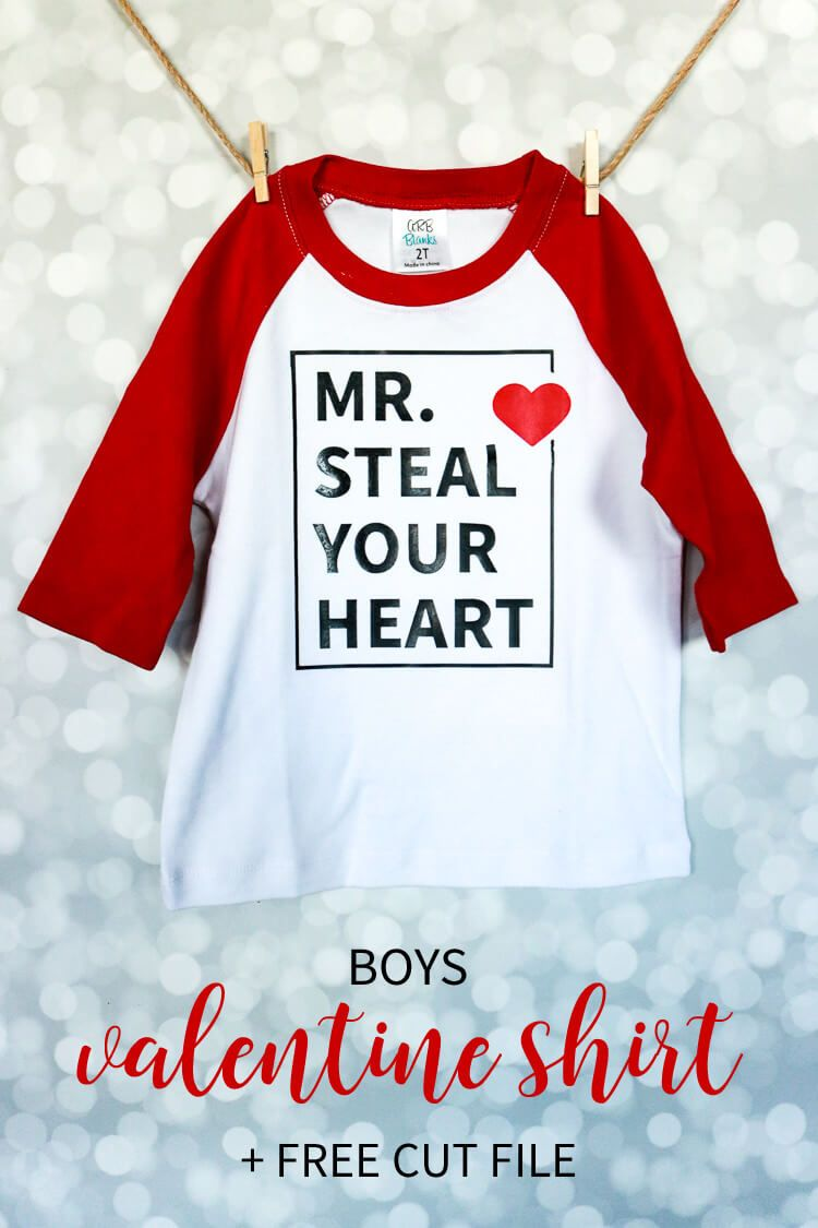 ee384d967 A fun and cute valentines shirt idea for the boys! As a boymom it's always  a struggle to find cute boy stuff so I made my own and am sharing with you!