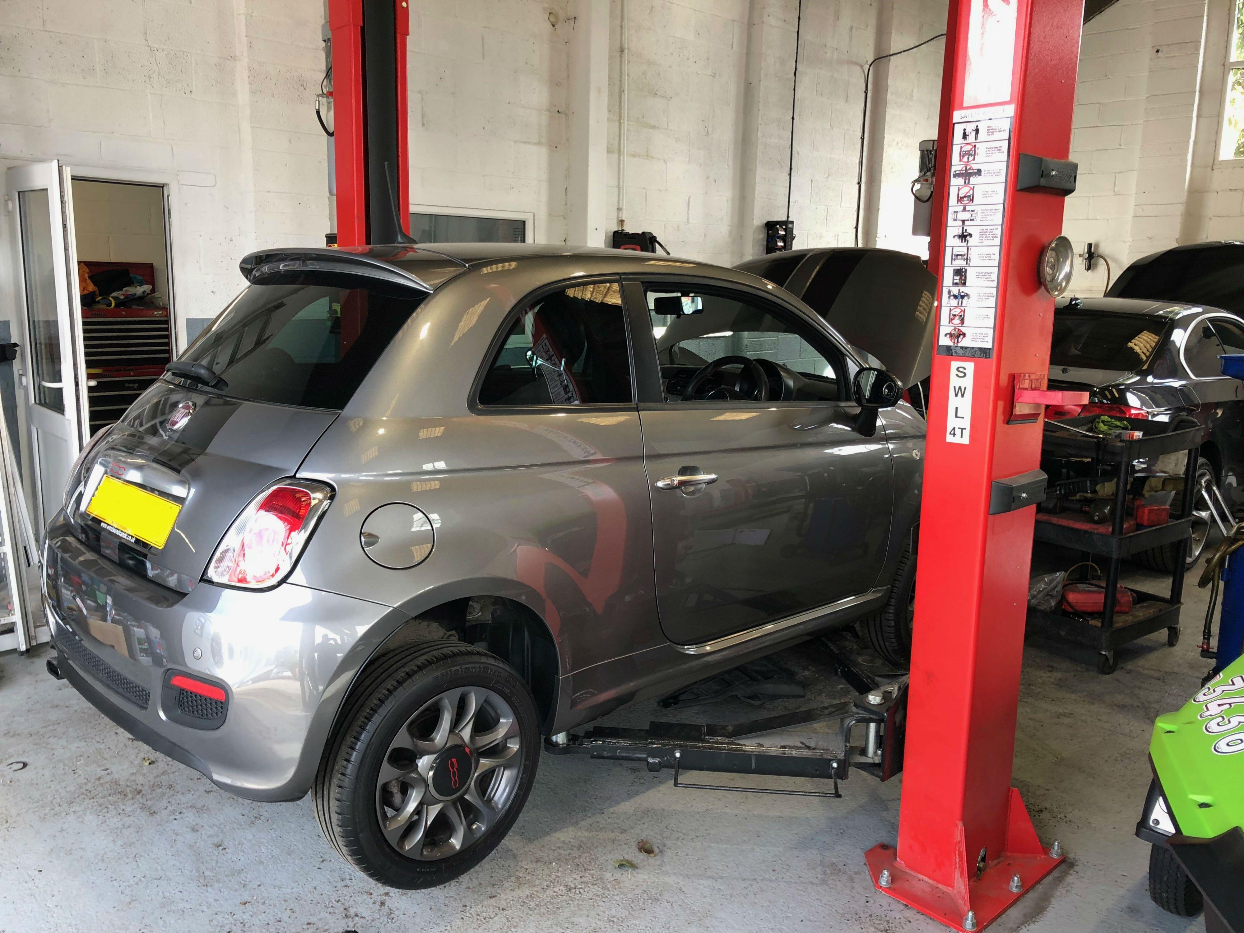 Pin by Hartley Garage on Garage Services Fiat 500, Car