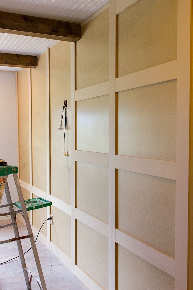 Master Makeover: DIY Paneled Wall (Instead of Particle ...