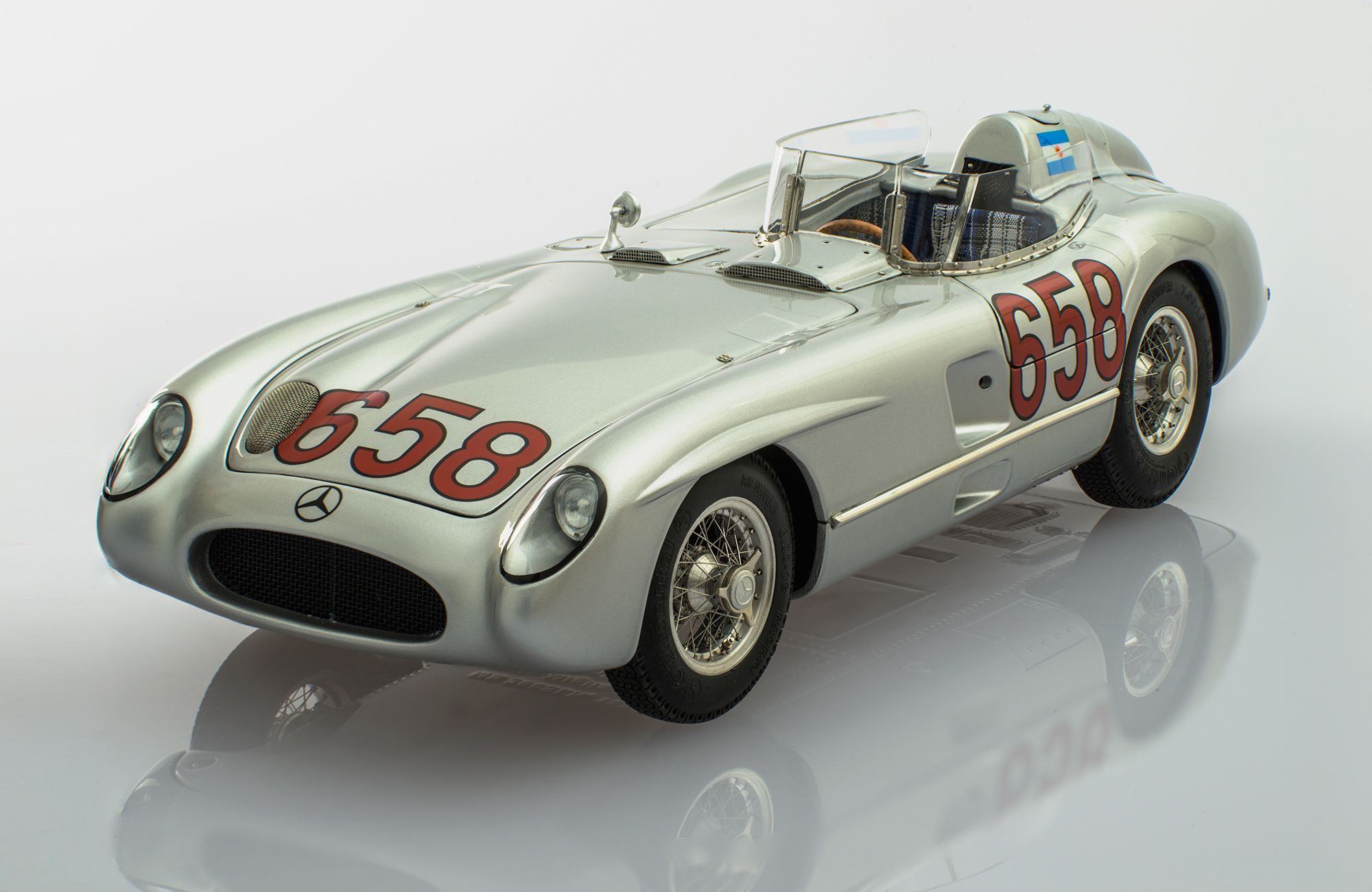 Mercedes Benz 300 Slr Mille Miglia 658 By Cmc With Images