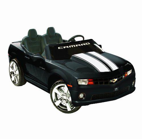 Kid Motorz 12-Volt Two Seater Racing Black Camaro By Kid