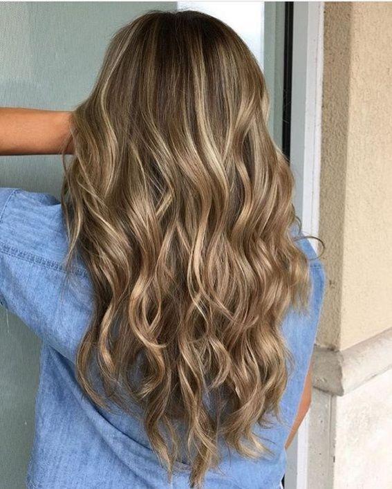 Hairstyles With Dark Blonde Hair Deep Golden Tonesbronde Balayage
