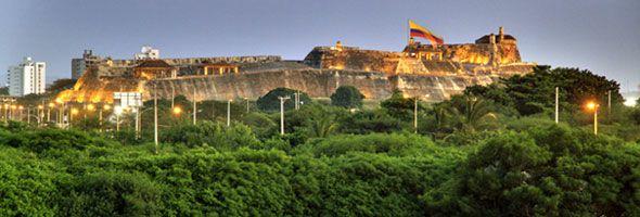 Castillo de San Felipe Cartagena Colombia