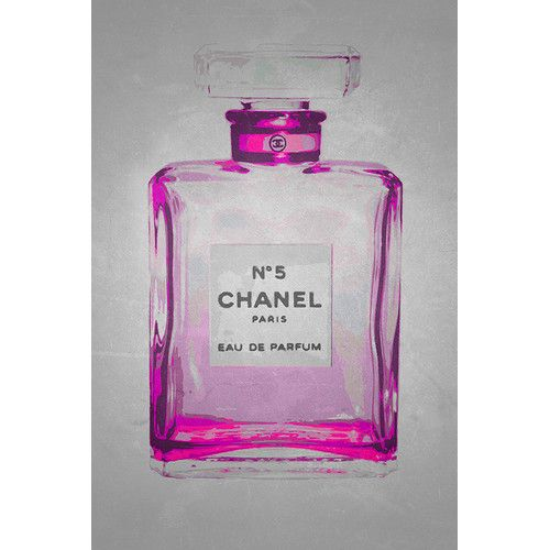 Found it at Wayfair - Chanel No. 5 in Chic Pink Giclee by Kelissa Semple Graphic…