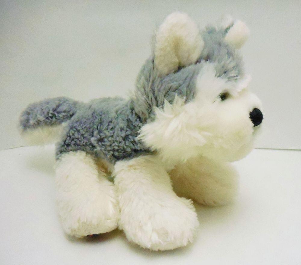 Ganz Lil Kinz Husky Dog Hs120 Plush Stuffed Webkinz Toy Animal No
