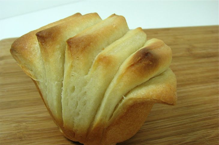 Buttermilk Fantails Recipe Breads With Butter Active Dry Yeast Warm Water Honey All Purpose Flour S Bon Appetite Recipes Easy Bread Recipes Simply Recipes