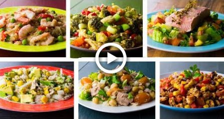 6 High Protein Recipes For Weight Loss #food #fitness