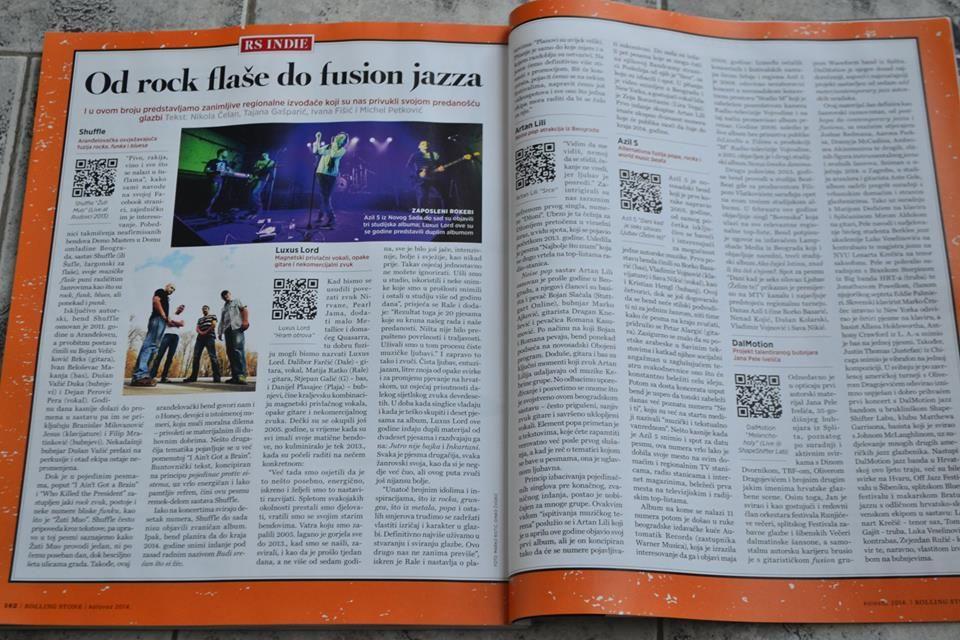 """Recenzija albuma """"Azil5"""", našeg predavača Filipa Vlatkovića, izašao je u hrvatskom izdanju magazinu """"Rolling Stone""""."""