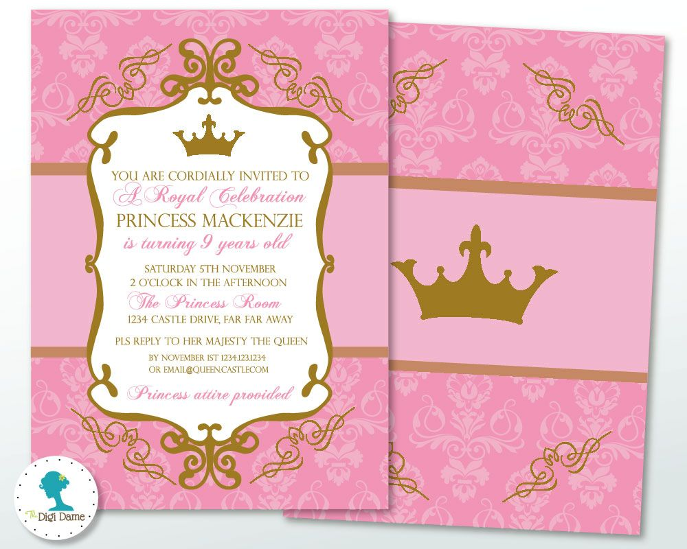 Theme Spotlight - Princess Party Ideas and a FREE Printable, at The ...