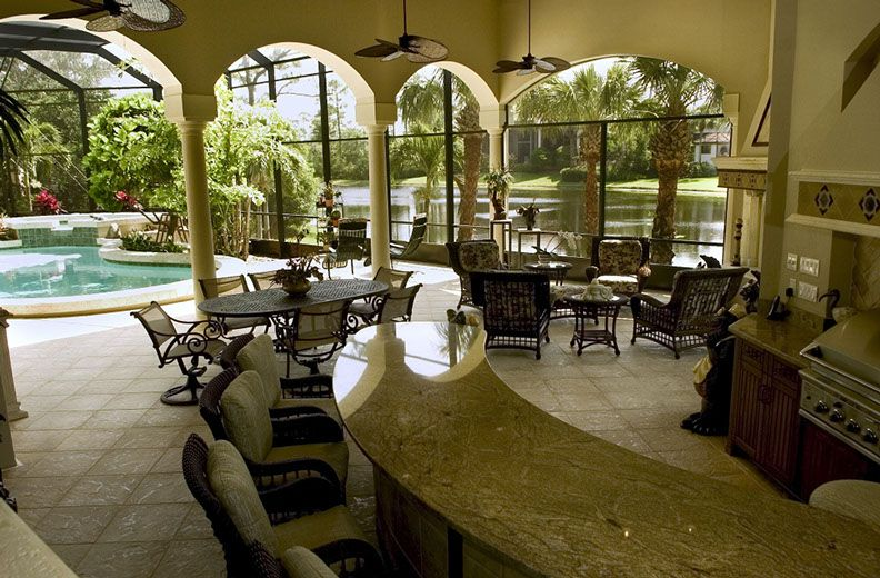 Outdoor Kitchen Remodel Bonita Springs Fl Progressive Design Build Building Design Outdoor Living Space Outdoor Kitchen