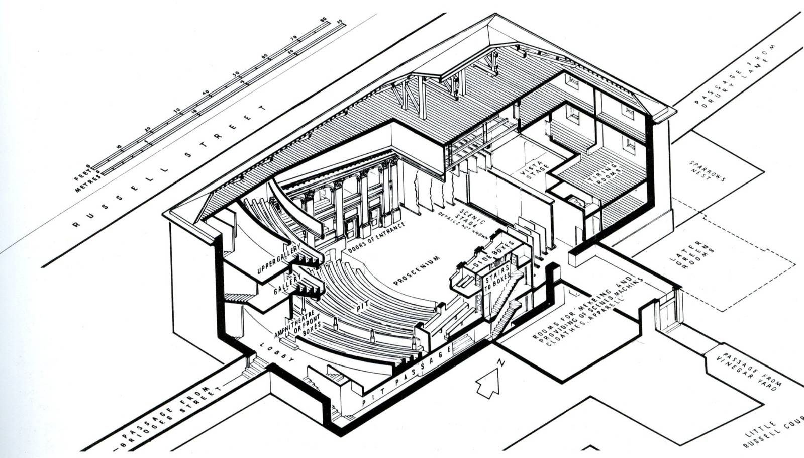 Isometric Section Sketch