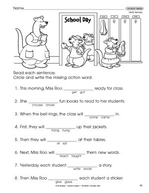 Printables Past Tense Worksheets For Grade 2 past tense worksheets for grade 2 versaldobip simple present quiz 3 tense