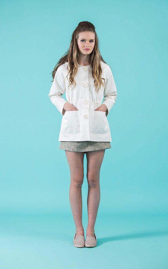 Waver Jacket PDF | Sewing | Pinterest | Nähen, Leinen und Baumwolle