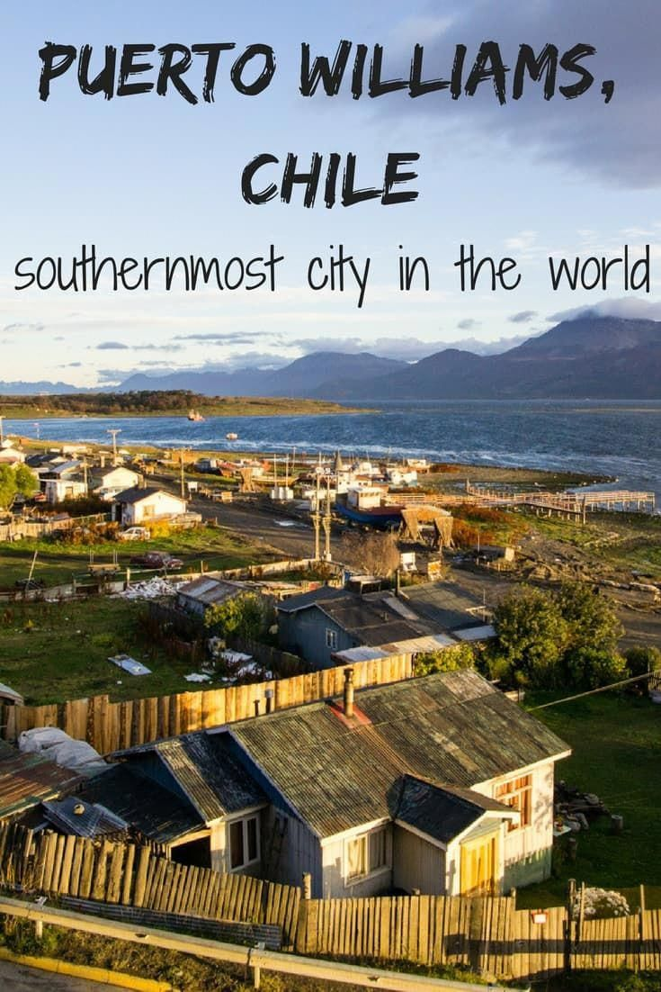 Exploring remote Puerto Williams, Chile the southernmost