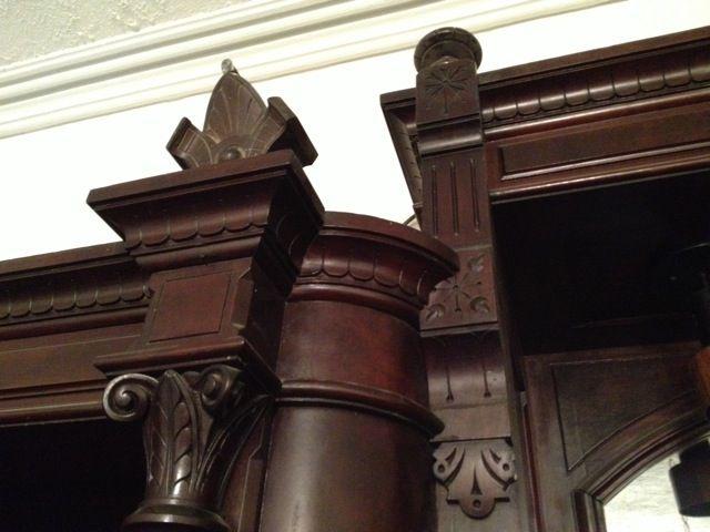 My Greatest Craigslist Find Salvaging A Giant Antique Victorian Wardrobe Victorian Furniture Eastlake Furniture Eastlake