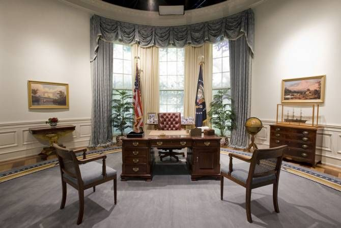The Other Presidential Libraries In Texas: Bush In College Station And LBJ  In Austin.