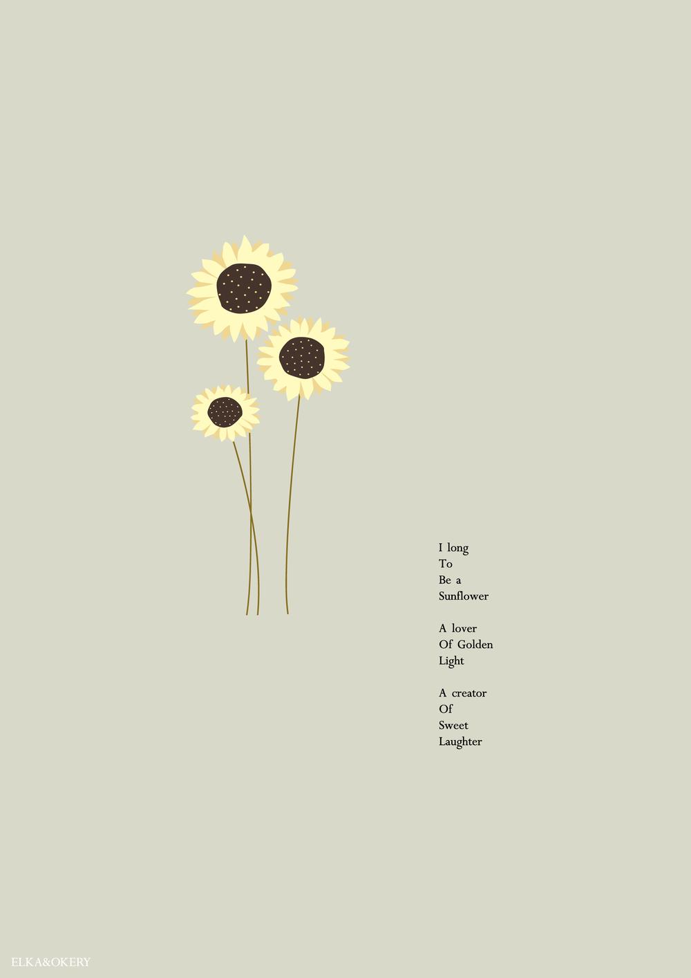 Sunflower – Art Print