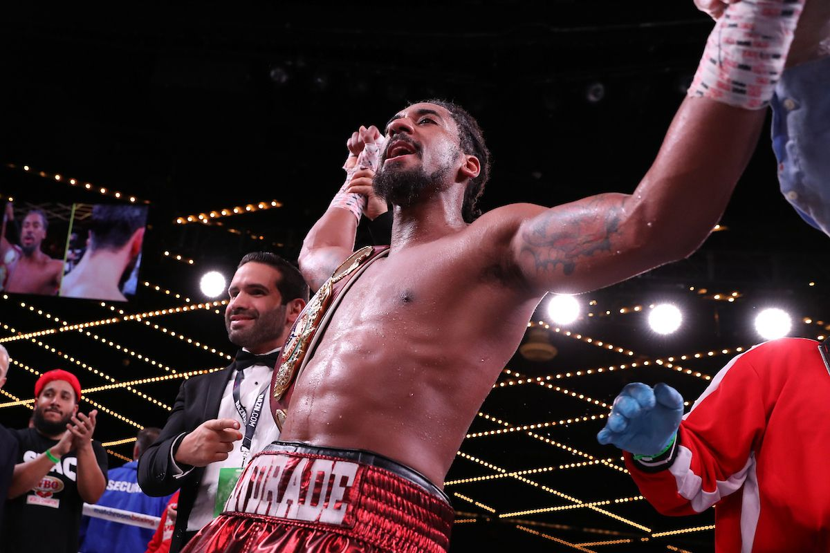Demetrius Andrade Will Face Maciej Sulecki on DAZN | BOXING/MMA NEWS
