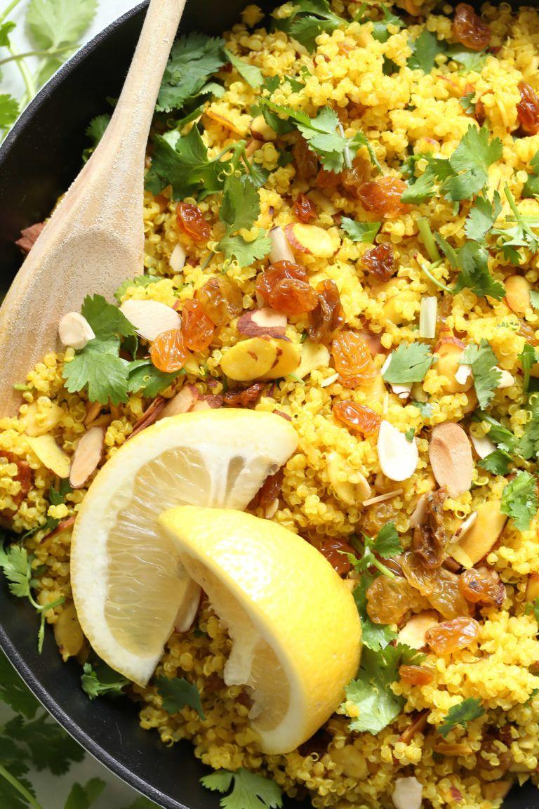Photo of Lemony Quinoa with Turmeric
