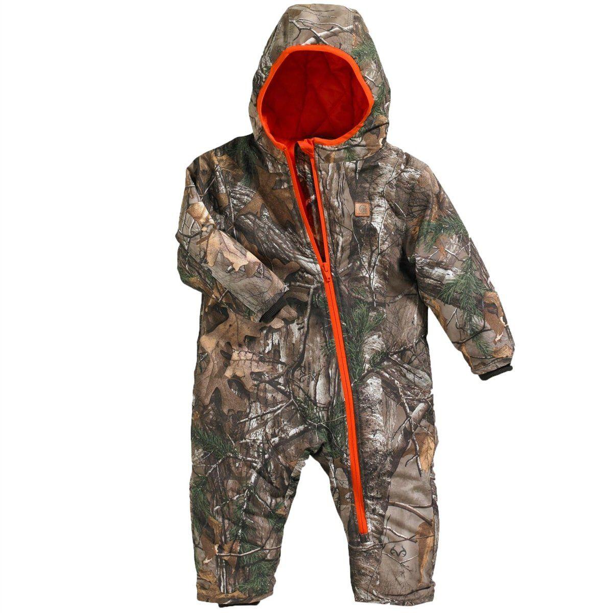 bfc0824b4ceb Carhartt Baby-Boys Infant Camo Snowsuit