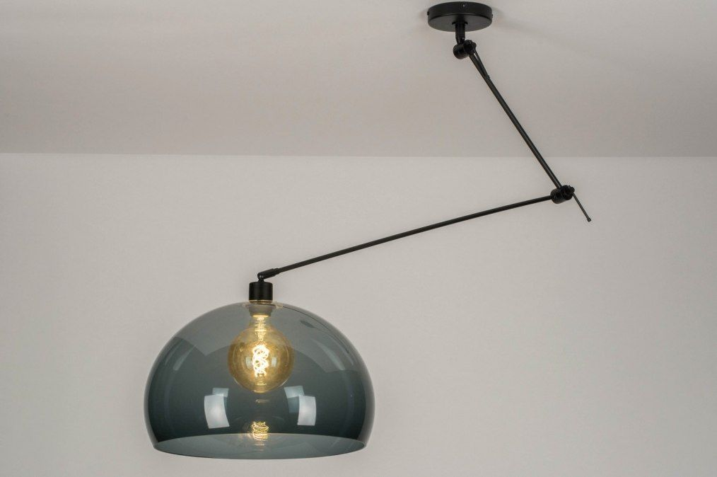 Hanglamp 30740 Modern Retro Glas Kunststof Hanglamp Huisverlichting Plafondlamp