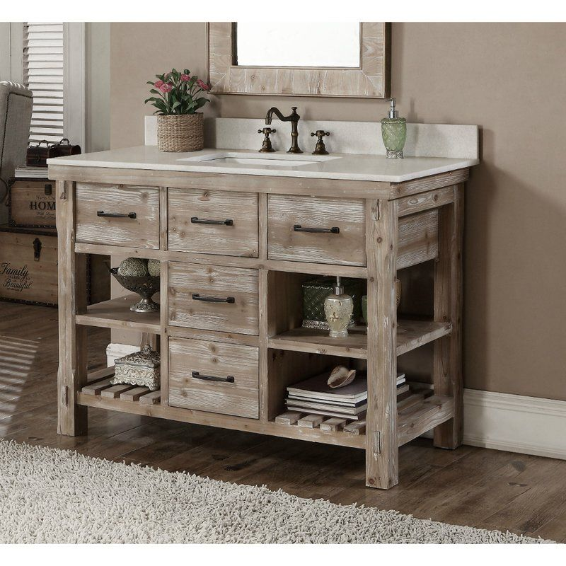 This 49 Rustic Style Bathroom Vanity Features 1 Convenient Tip Out Tray 4 Sof Bathroom Vanity Trends Farmhouse Style Bathroom Vanity Bathroom Farmhouse Style