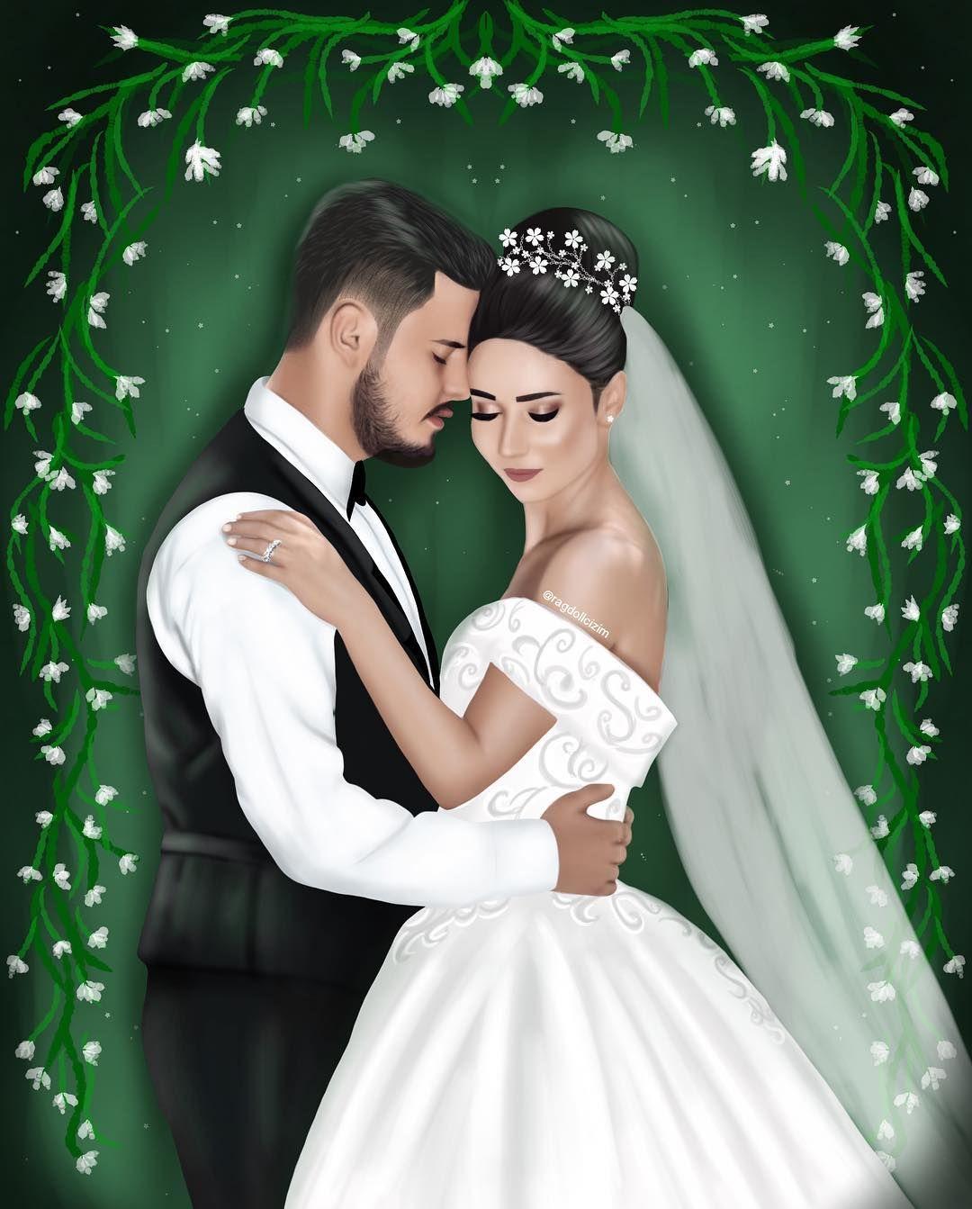 103 7 Mil Seguidores 58 Seguidos 271 Publicaciones Ve Las Fotos Y Los Videos De Instagram De D I G I T A L A Wedding Images Love Cartoon Couple Sarra Art