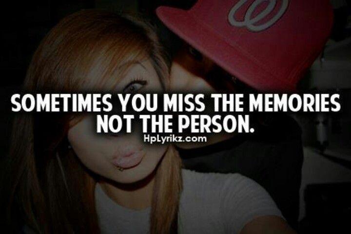 miss memories not da person