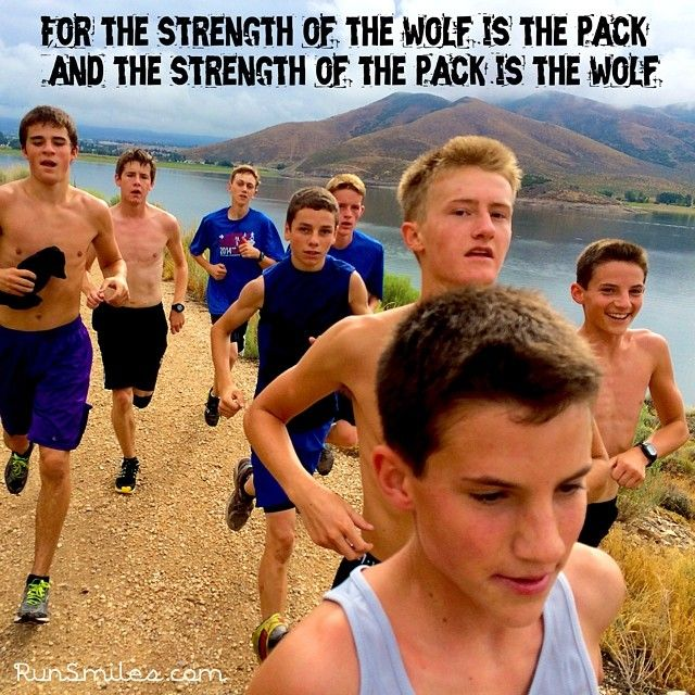 How many of you feel stronger when you run with your team or a group of friends? #packrunning #togetherwearestronger #friends #team #run #runner #runsmiles #fun #happy #smile Running Motivation | Running Inspiration | Running Quotes
