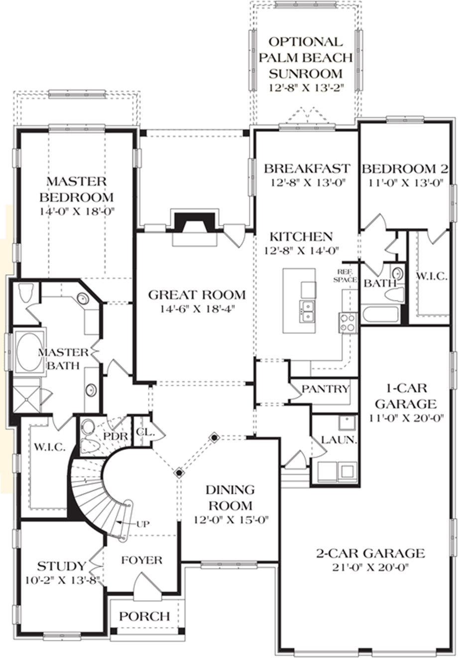 Homes with 2 master bedrooms  st Floor Floor Master Bedroom Plan Toll Brothers Courtesy of