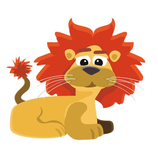 Funny Lion Cartoon Png Cartoon Lion Funny Lion Cartoon Character Design