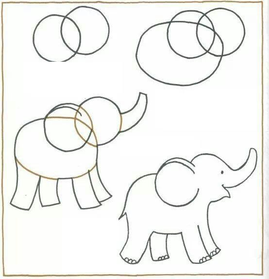 Comment Dessiner Elephant Kawaii Etape Par Etape Dessins Kawaii
